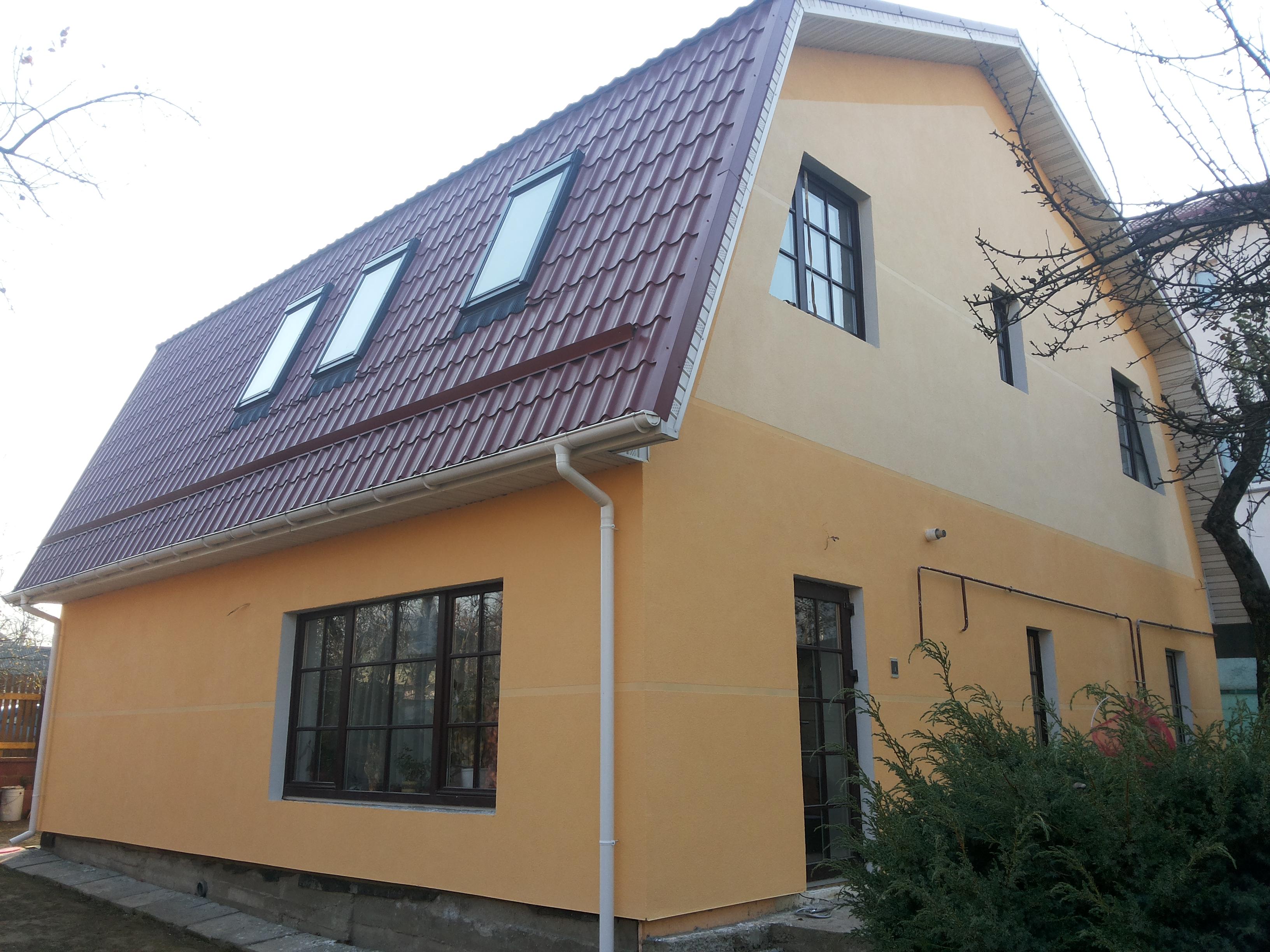 Утепление фасада дома в рязани
